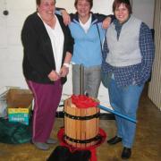 Nous pressons notre récolte 2008
